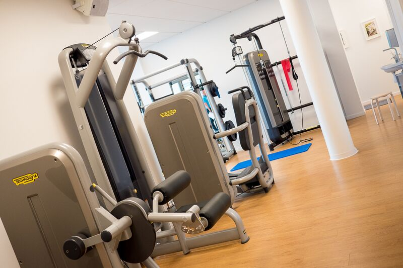 Påbörja din träning på vårt gym i Bromma Fysioterapi, nära Vällingby i Blackeberg